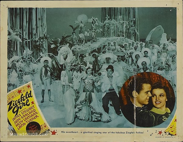 Ziegfeld Girl - Lobby card with Judy Garland & Jackie Cooper