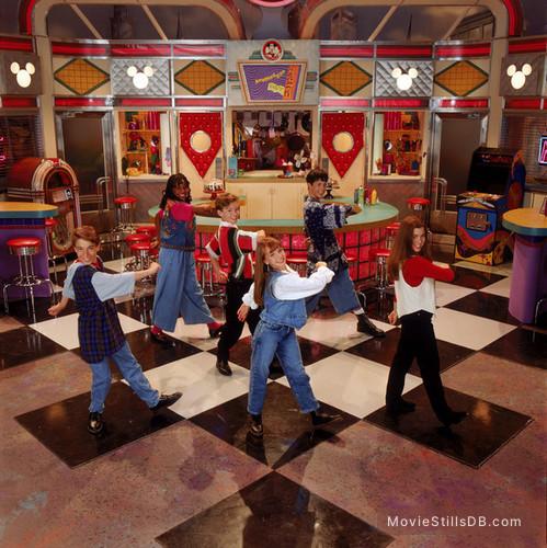 MMC - Promo shot of Ryan Gosling, Justin Timberlake, Christina Aguilera & Britney Spears