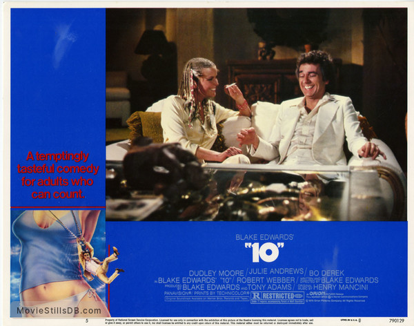 10 - Lobby card with Dudley Moore & Bo Derek