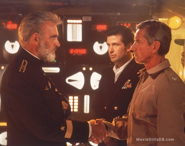 The Hunt for Red October - Publicity still of Sean Connery, Alec Baldwin & Scott Glenn