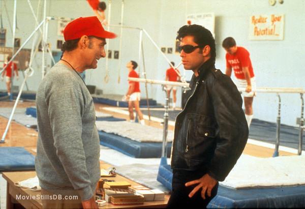 Grease - Publicity still of John Travolta & Sid Caesar