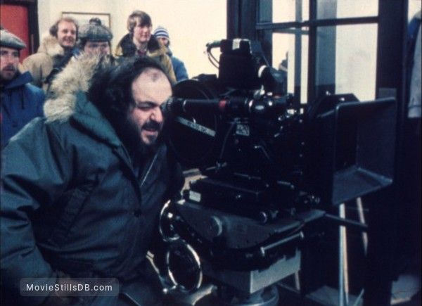 The Shining - Behind the scenes photo of Stanley Kubrick