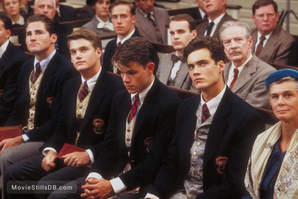 School Ties - Publicity still of Matt Damon & Randall ...