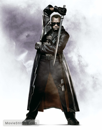Blade 2 - Promotional art with Wesley Snipes