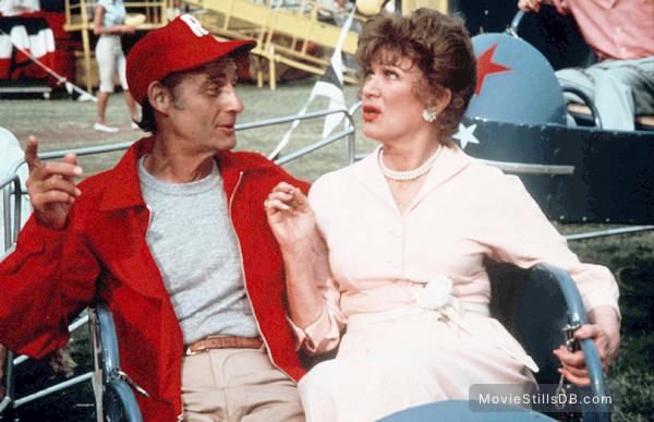 Grease - Publicity still of Sid Caesar & Eve Arden