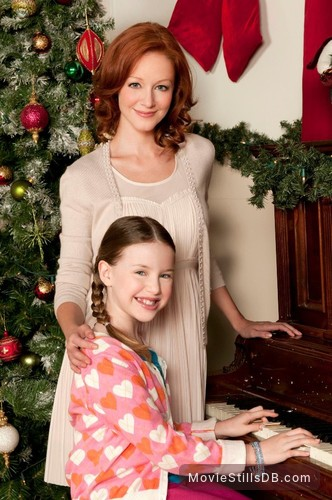 christmas magic promo shot of lindy booth paul mcgillion kiara glasco - Christmas Magic Movie