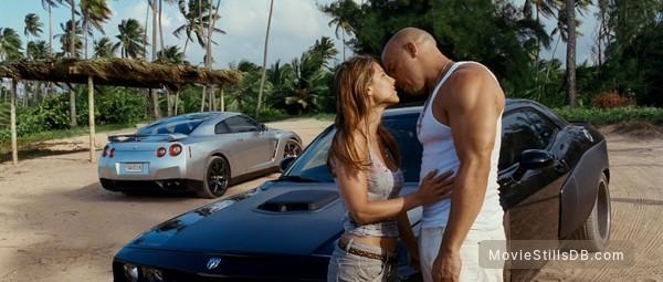 Fast Five - Publicity still of Vin Diesel & Elsa Pataky