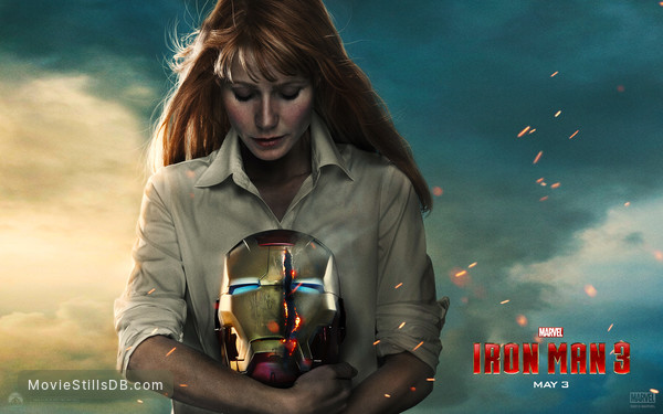 Iron Man 3 - Wallpaper with Gwyneth Paltrow