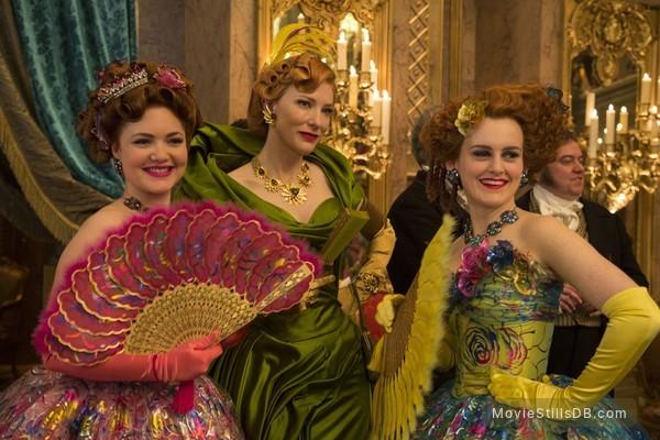 Cinderella - Publicity still of Cate Blanchett, Sophie McShera & Holliday Grainger