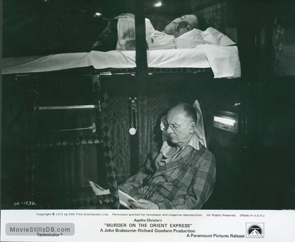 Murder on the Orient Express - Publicity still of John Gielgud