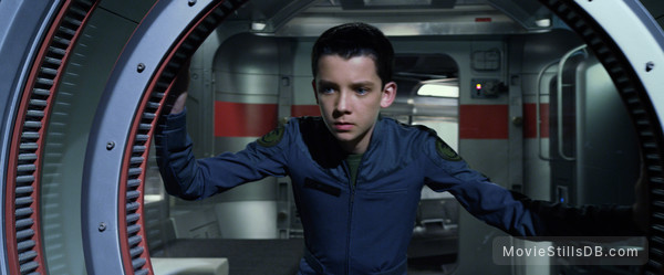 Ender's Game - Publicity still of Asa Butterfield