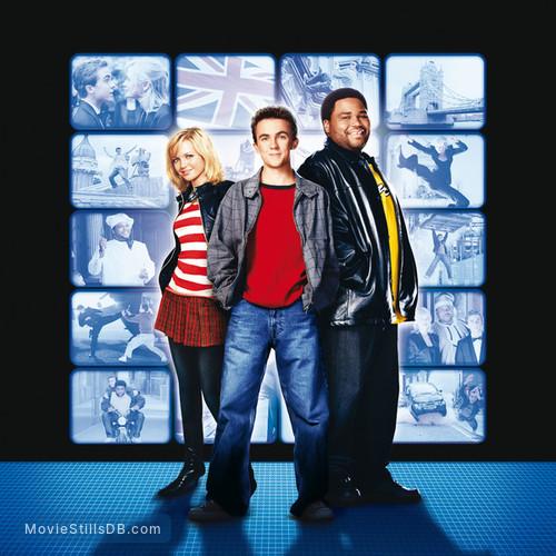 Agent Cody Banks 2 - Promotional art with Anthony Anderson, Frankie Muniz & Hannah Spearritt