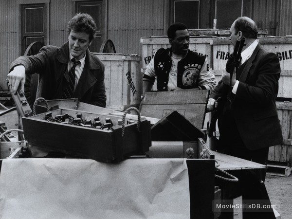 Beverly Hills Cop 2 - Publicity still of Eddie Murphy, Judge Reinhold & John Ashton