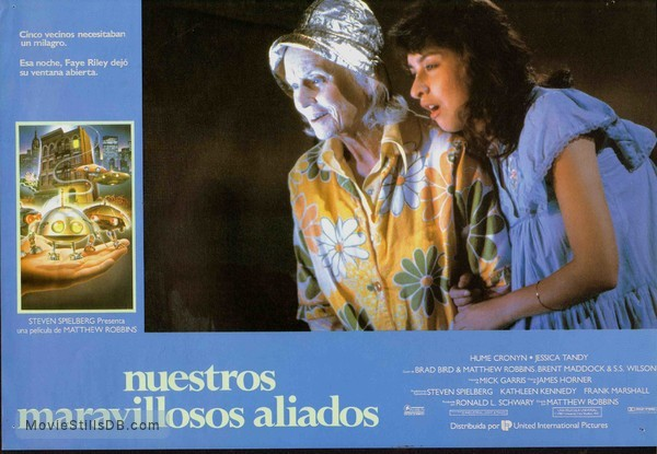 *batteries not included - Lobby card with Jessica Tandy & Elizabeth Peña