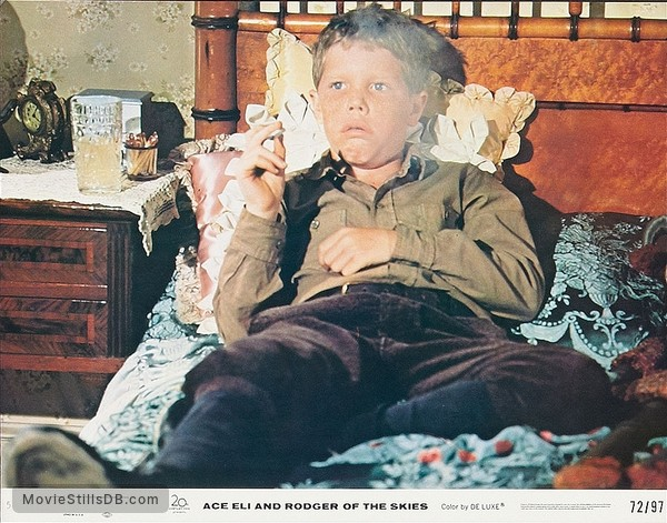 Ace Eli and Rodger of the Skies - Lobby card with Eric Shea