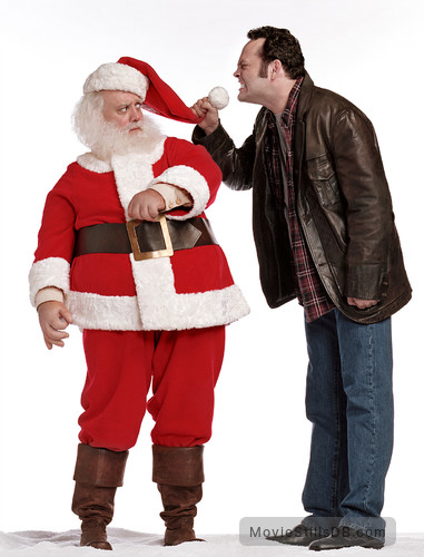fred claus promo shot of paul giamatti vince vaughn - Vince Vaughn Christmas Movie