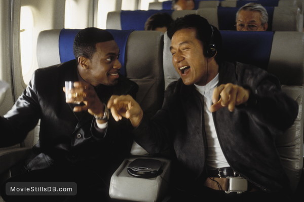 Rush Hour - Publicity still of Jackie Chan & Chris Tucker
