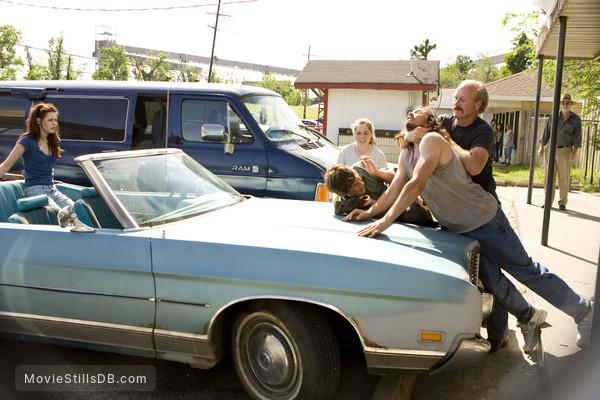 The Yellow Handkerchief - Publicity still of Kristen Stewart, William Hurt & Eddie Redmayne