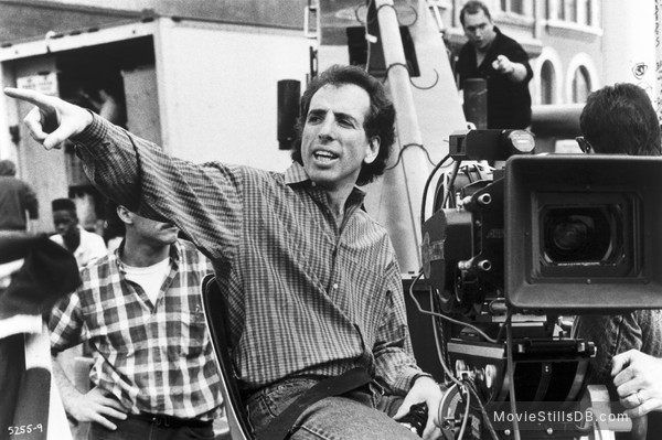 Ghost - Behind the scenes photo of Jerry Zucker