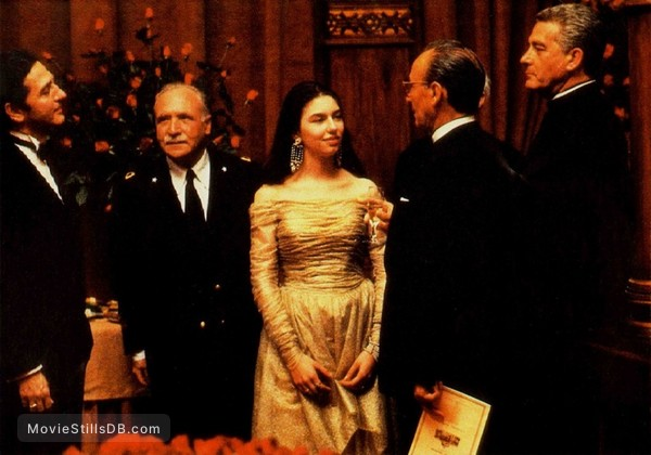 The Godfather: Part III - Publicity still of Sofia Coppola
