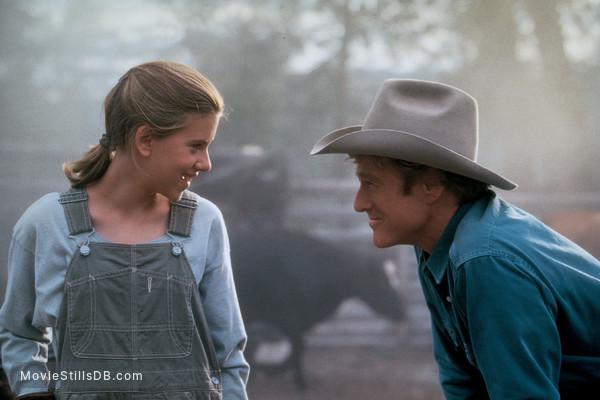 The Horse Whisperer - Publicity still of Scarlett Johansson & Robert Redford