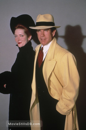Dick Tracy - Promo shot of Warren Beatty & Glenne Headly
