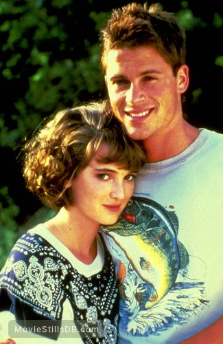 Square Dance - Promo shot of Winona Ryder & Rob Lowe