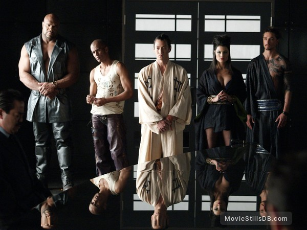Elektra - Publicity still of Natassia Malthe, Will Yun Lee, Bob Sapp & Chris Ackerman