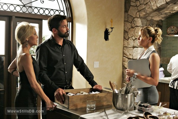 Melrose Place - Publicity still of Heather Locklear & Billy Campbell