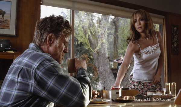 An Unfinished Life - Publicity still of Jennifer Lopez & Robert Redford