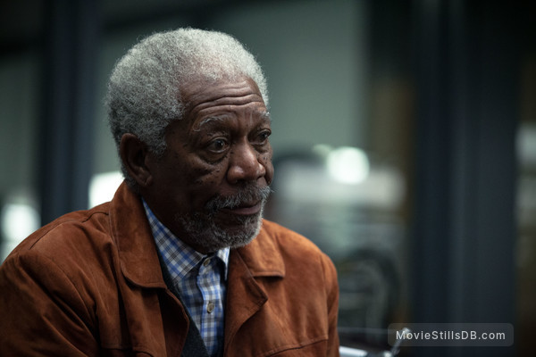 Transcendence - Publicity still of Morgan Freeman