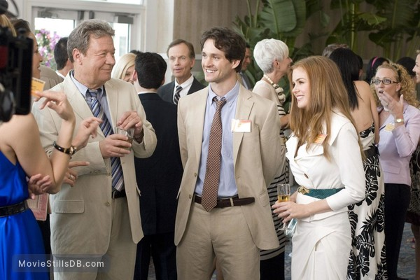Confessions of a Shopaholic - Behind the scenes photo of Hugh Dancy & Isla Fisher
