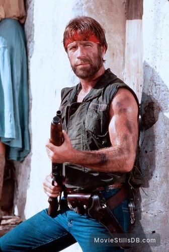 Lone Wolf McQuade - Publicity still of Chuck Norris