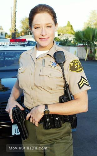 10-8: Officers on Duty - Promo shot of Jamie Luner