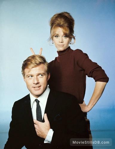 Barefoot in the Park - Promo shot of Jane Fonda & Robert Redford
