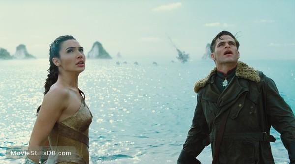 Wonder Woman - Publicity still of Gal Gadot & Chris Pine