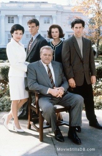 A Season in Purgatory - Promo shot of Brian Dennehy, Patrick Dempsey, Blair Brown, Sherilyn Fenn & Craig Sheffer
