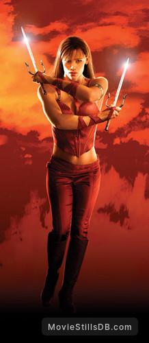Elektra - Promotional art with Jennifer Garner