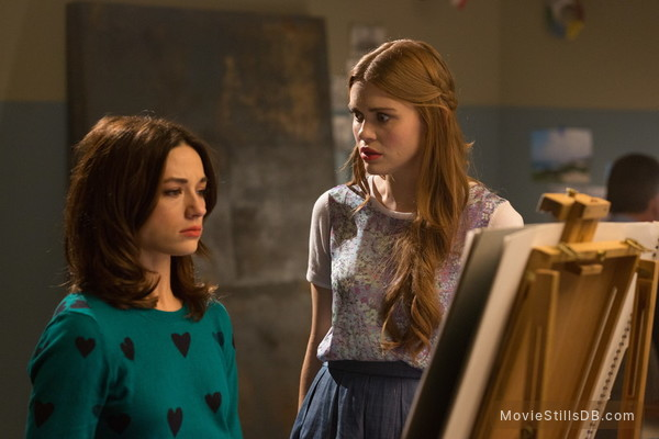 Teen Wolf - Publicity still of Holland Roden & Crystal Reed