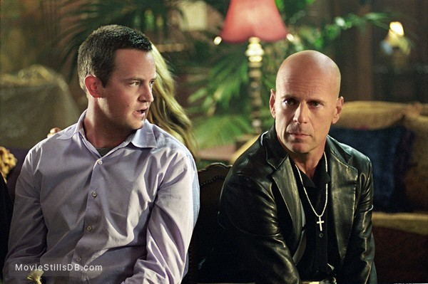The Whole Ten Yards - Publicity still of Bruce Willis & Matthew Perry