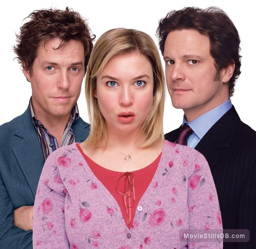Bridget Jones: The Edge of Reason - Promo shot of Renée Zellweger, Hugh Grant & Colin Firth