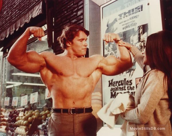 Hercules In New York - Publicity still of Arnold Schwarzenegger
