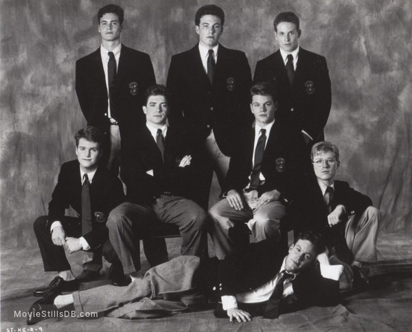 School Ties - Promo shot of Brendan Fraser & Matt Damon