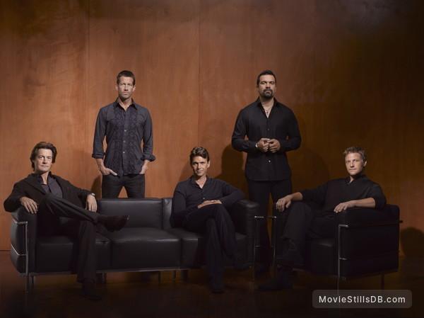 Desperate Housewives - Promo shot of Kyle MacLachlan, James Denton, Dougray Scott, Ricardo Chavira & Doug Savant