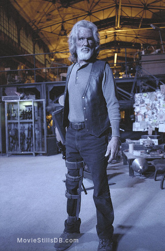 Blade 2 - Pre-production image with Kris Kristofferson
