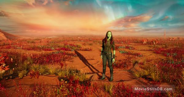 Guardians of the Galaxy Vol. 2 - Publicity still of Zoe Saldana