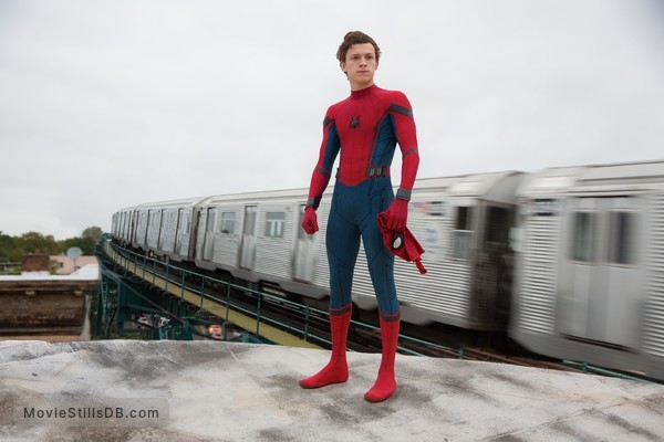 Spider-Man: Homecoming - Publicity still of Tom Holland