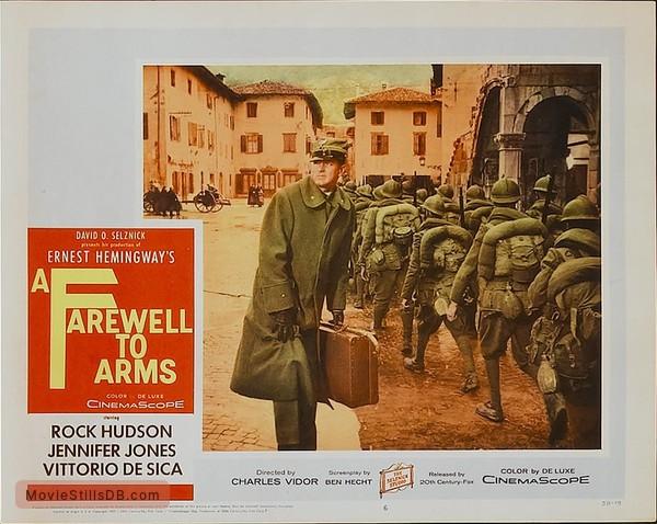 A Farewell to Arms - Lobby card
