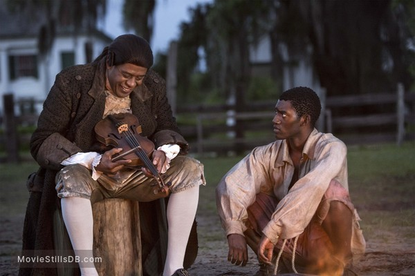 Roots - Publicity still of Malachi Kirby & Forest Whitaker