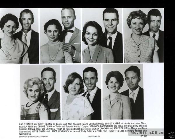 Publicity Still Of Kathy Baker & Scott Glenn